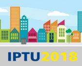 CALENDÁRIO DE VENCIMENTO DO IPTU 2018